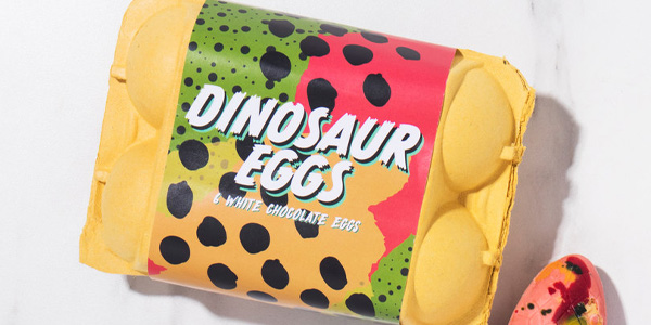 Chocolate Dinosaur Eggs