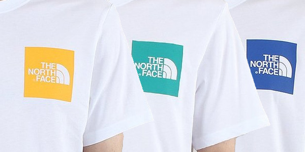 Clean North Face Logo Tees
