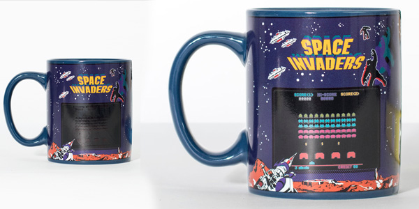 Space Invaders Heat Mug